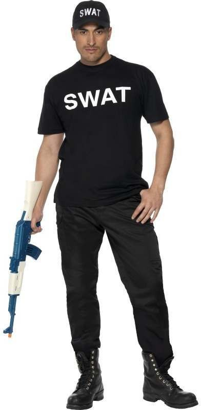 Swat Fancy Dress Costume