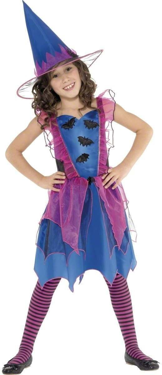 Bat Witch Fancy Dress Costume Girls (Halloween)