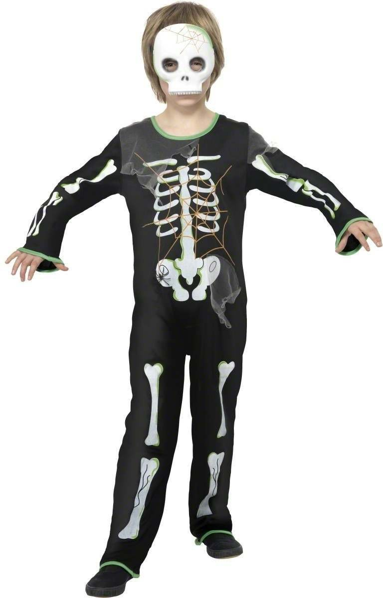 Scary Spider Skeleton Fancy Dress Costume (Halloween)