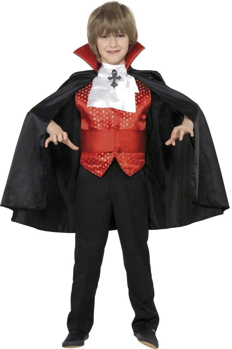 Dracula Boy Fancy Dress Costume Boys (Halloween)