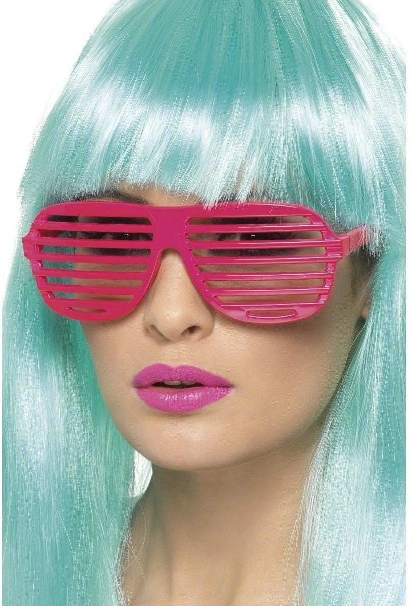 Neon Grill Glasses - Fancy Dress
