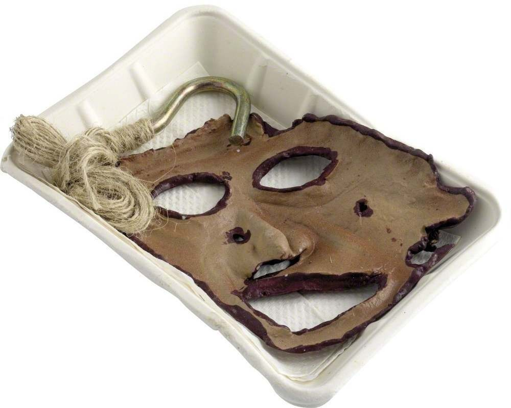 Decapitated Face On Take Away Tray - Fancy Dress (Halloween)