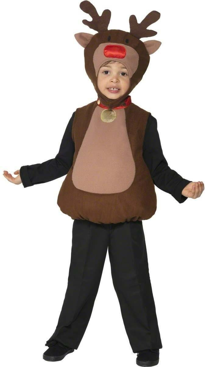 Little Reindeer Fancy Dress Costume Boys (Christmas)