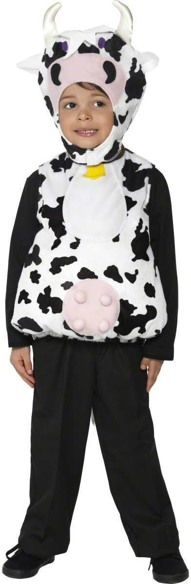 Moo Cow Fancy Dress Costume Boys (Animals)