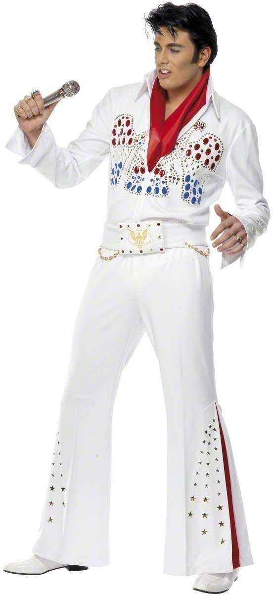 Elvis American Eagle Costume Mens Size 38-40 S (Music)