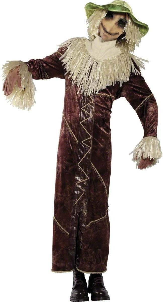 Rebel Toons Scarecrow Costume Mens Size 38-40 S (Cartoon , Fairy Tales)
