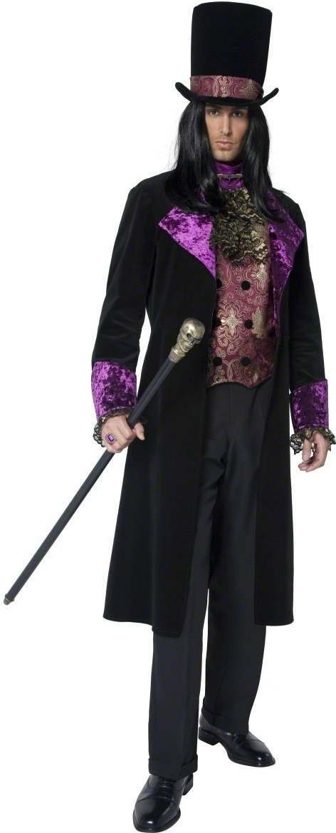 The Gothic Count Fancy Dress Costume Mens (Halloween)