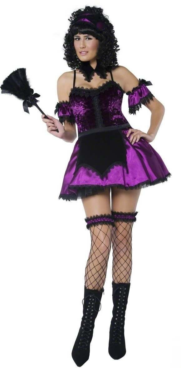 Gothic Housekeeper Fancy Dress Costume Ladies (Halloween)