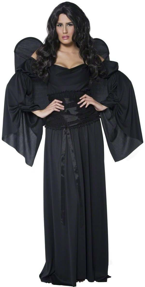 Cemetery Angel Fancy Dress Costume Ladies (Halloween)