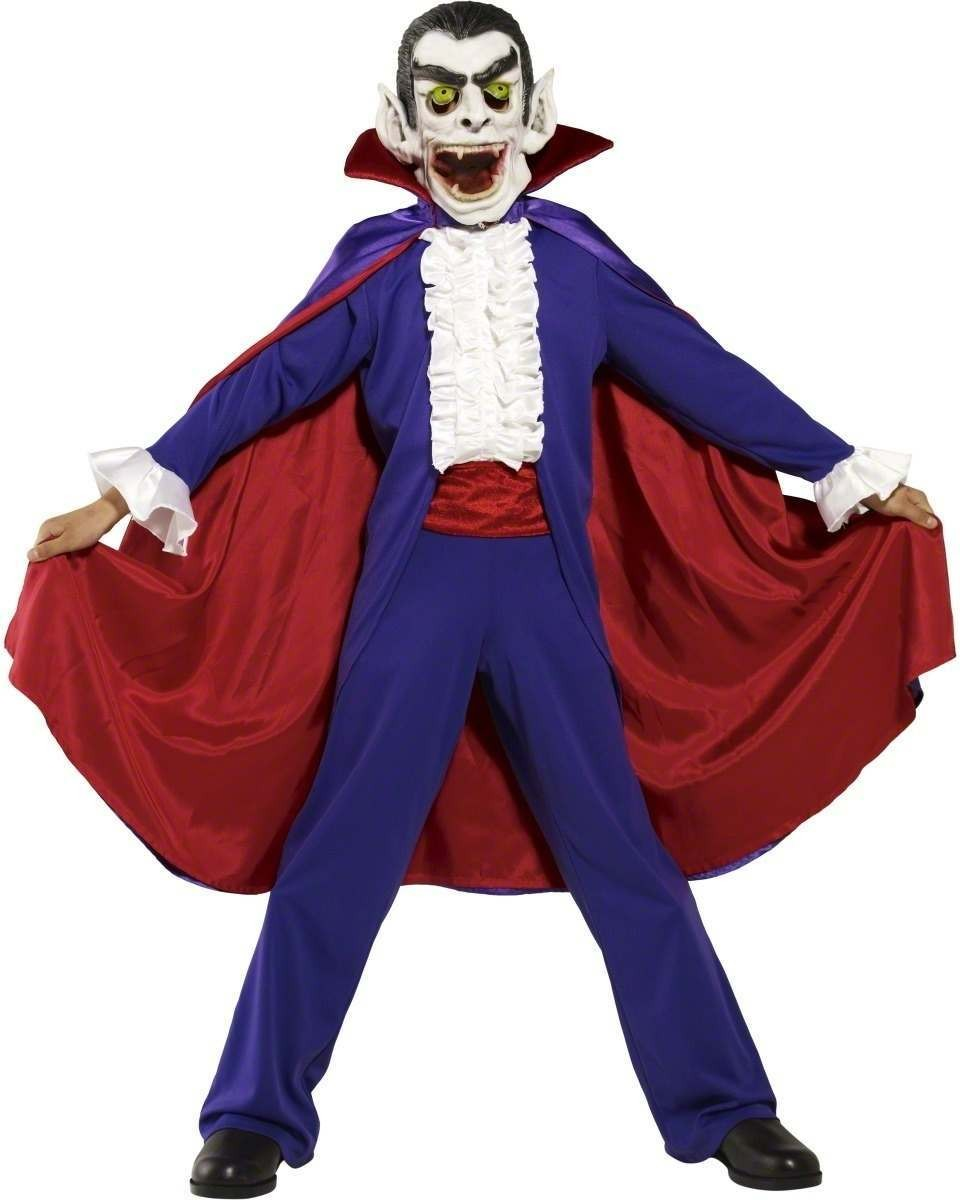 Dracula Fancy Dress Costume Boys (Cartoon)