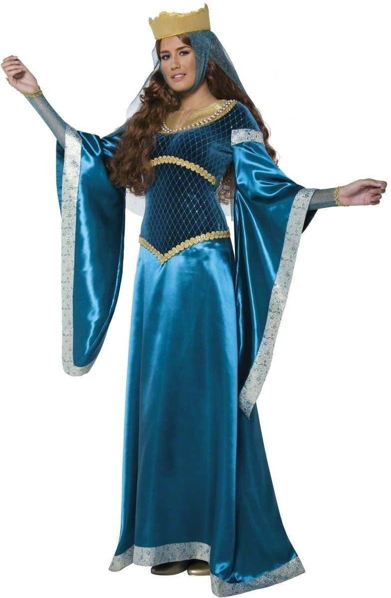 Tales Of Old England Maid Marion Fancy Dress Costume (Old English)