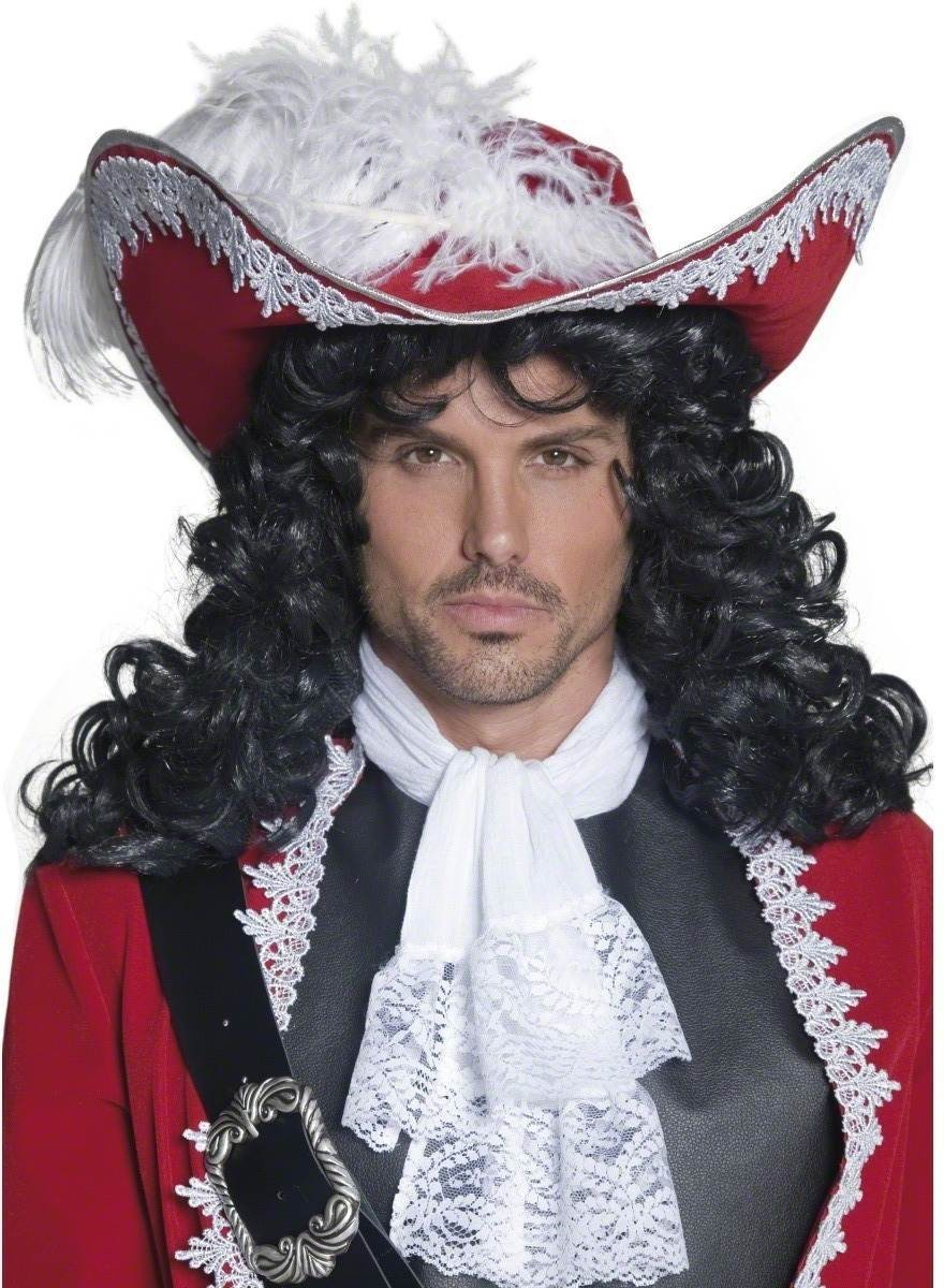Authentic Pirate Hat - Fancy Dress Mens (Pirates)