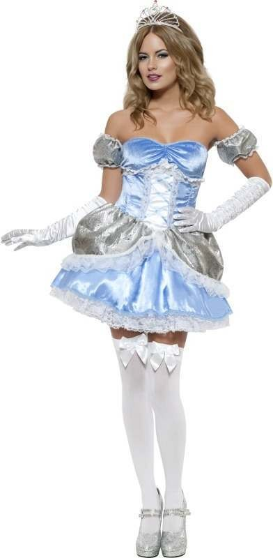 Fever Boutique Fairy Tale Princess Fancy Dress Costume