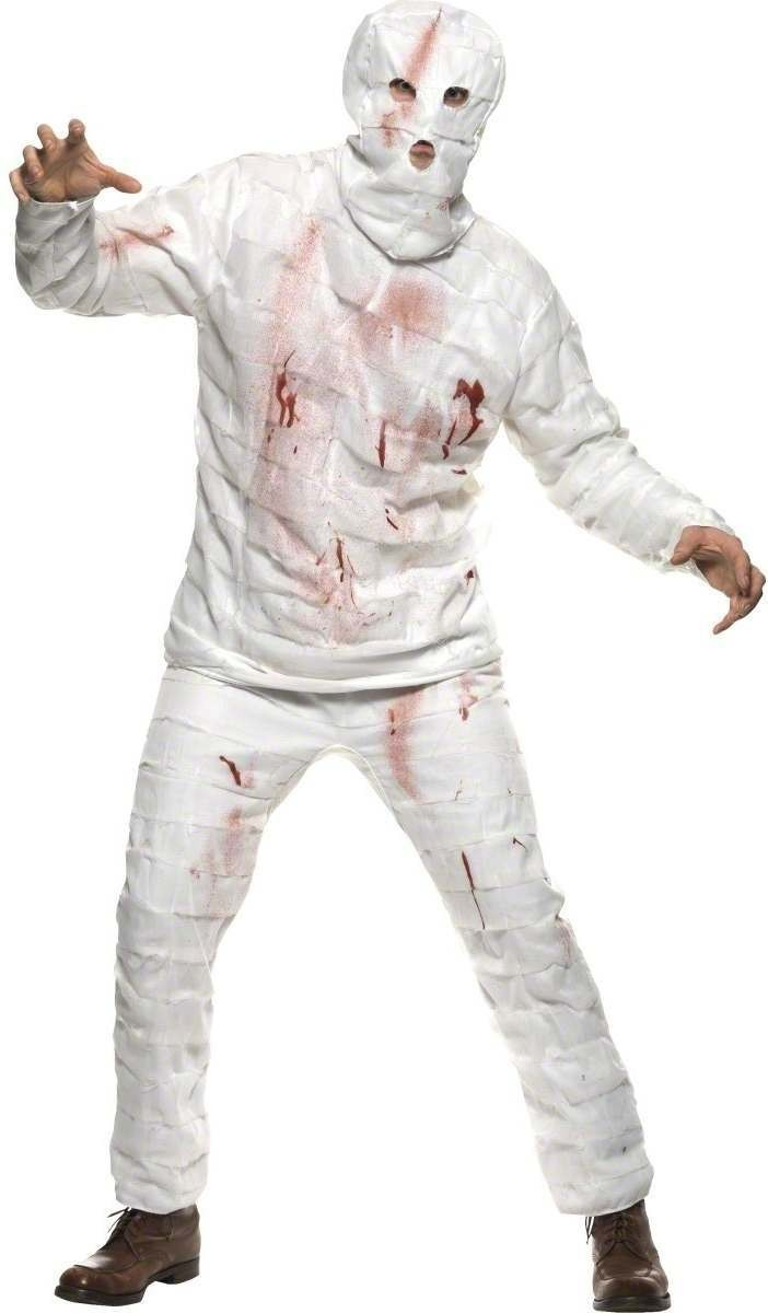 Mummy Fancy Dress Costume Mens (Halloween)