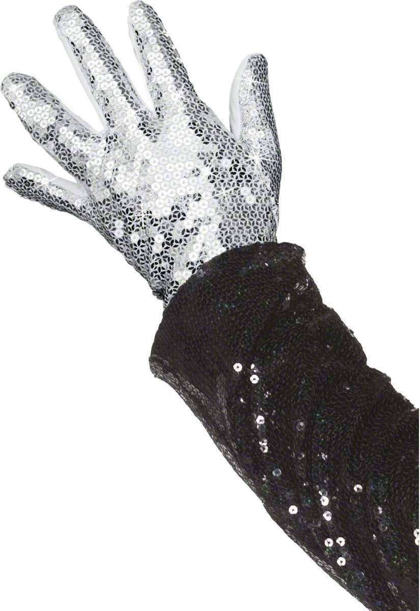 Michael Jackson Billie Jean Glove - Fancy Dress Mens (Music)
