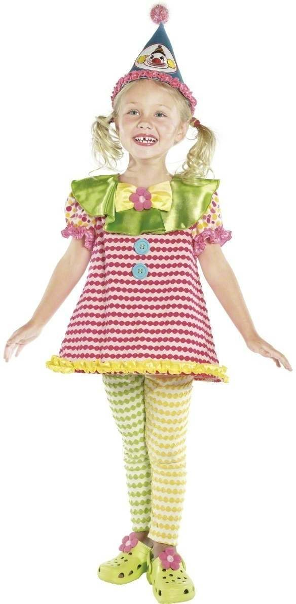 Clown Cutie Fancy Dress Costume Girls (Clowns)