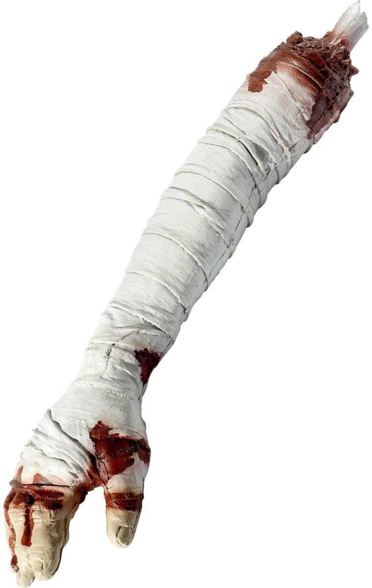 Dismembered Mummy Arm - Fancy Dress (Halloween)