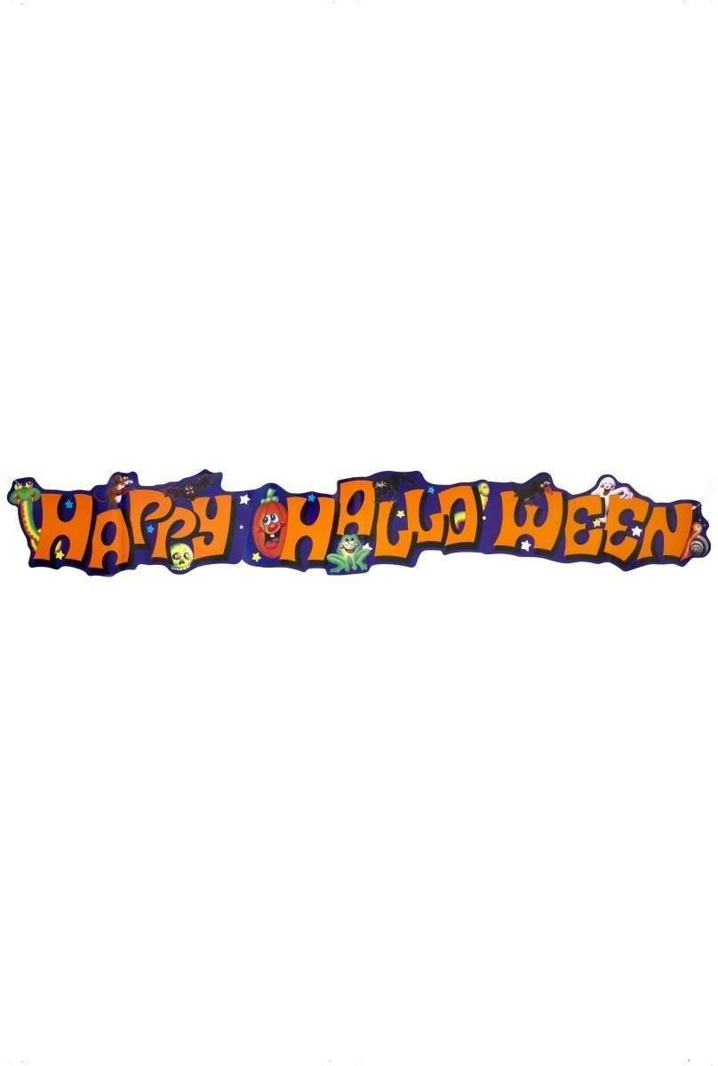 Happy Halloween Animals Banner - Fancy Dress (Halloween)