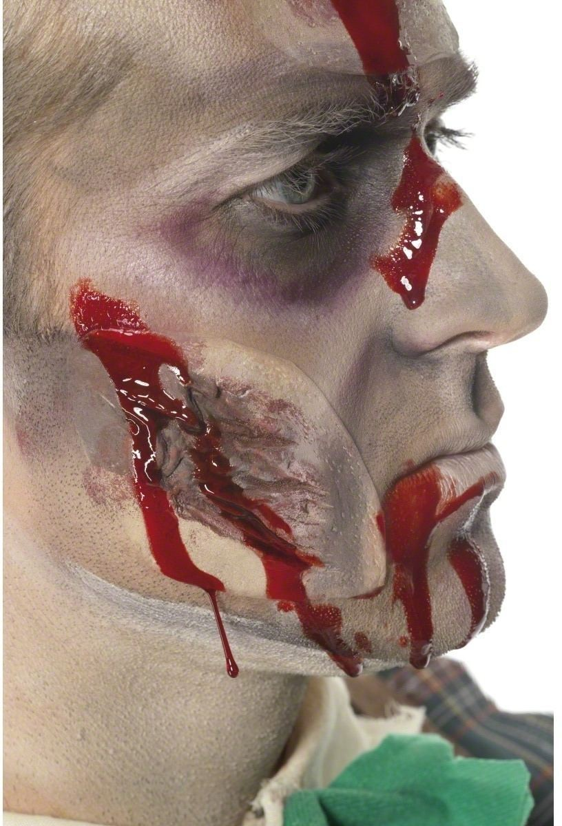 Small Scar Cut - Fancy Dress Mens (Halloween)