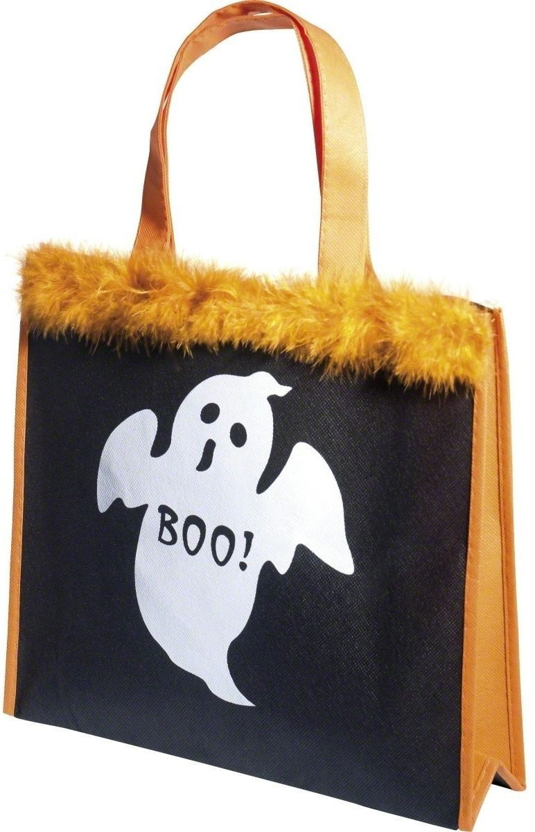 Halloween Bag Ghost Design - Fancy Dress Girls (Halloween)