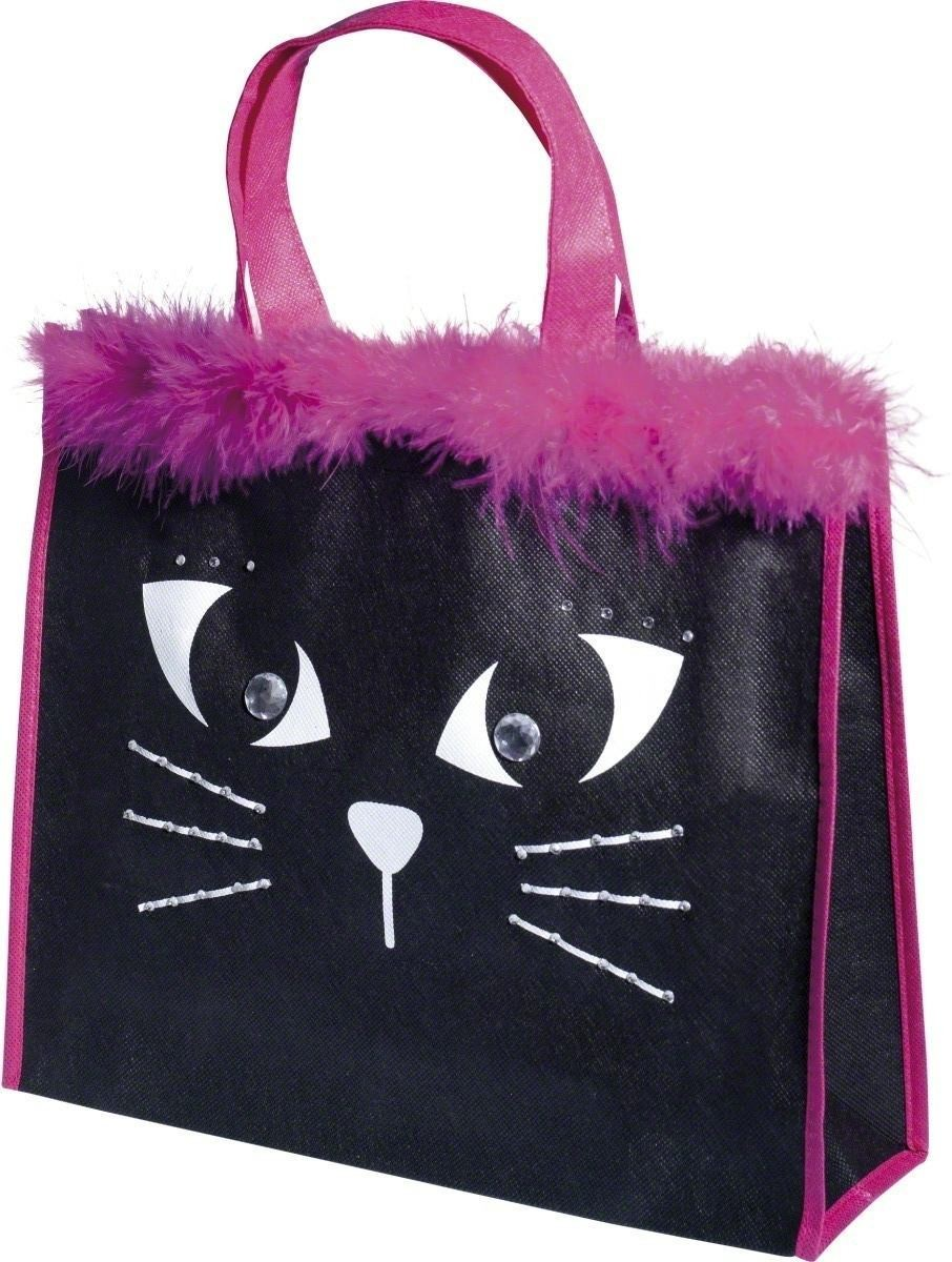 Halloween Bag Cat Design With Rhinestones - Fancy Dress (Halloween)