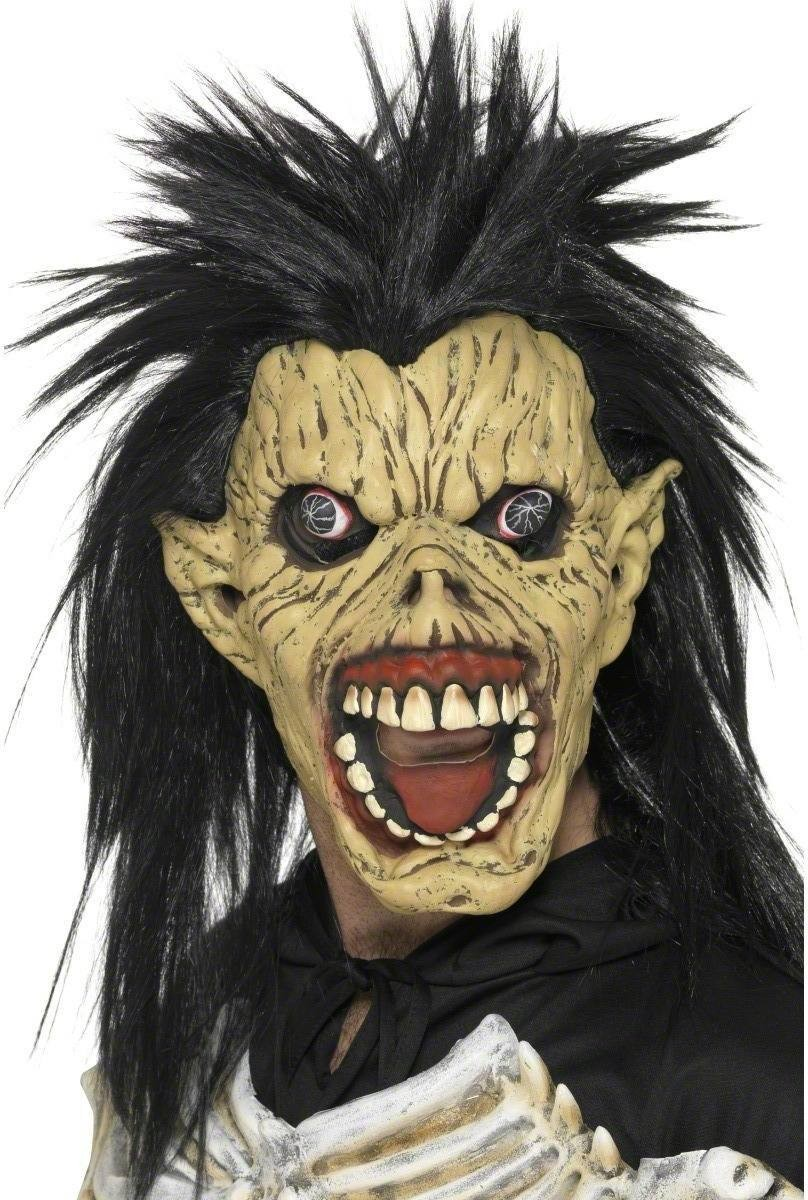 Laughing Vombie Mask - Fancy Dress Mens (Halloween)