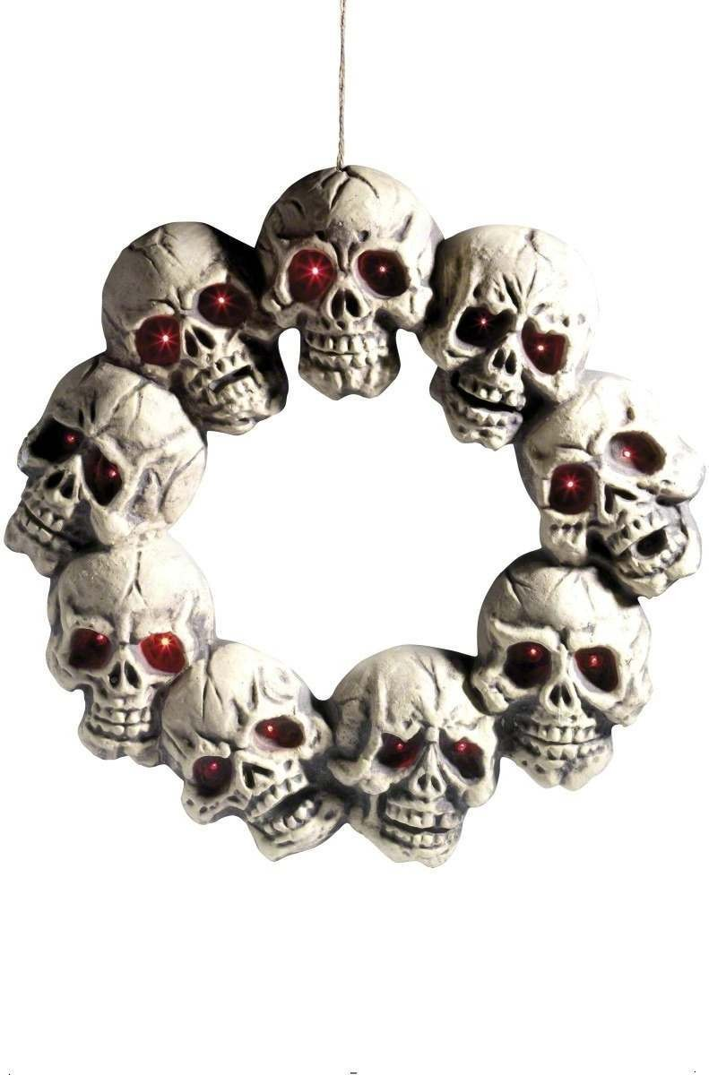 Skull Wreath - Fancy Dress (Halloween)