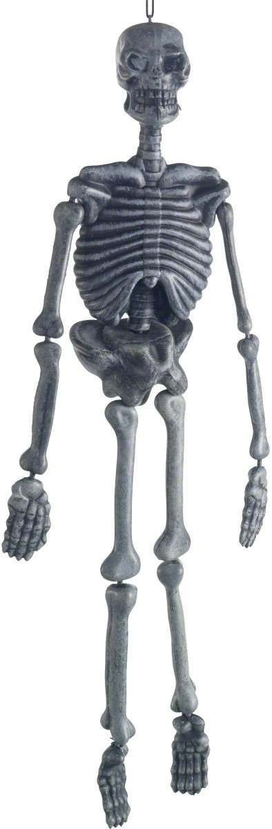 Hanging Skeleton Decoration 3 Dimensional - Fancy Dress (Halloween)