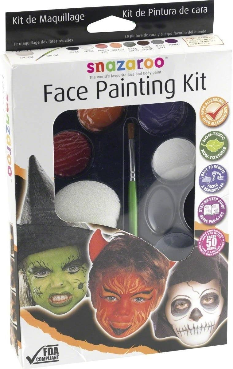 Snazaroo Face Painting Kit - Fancy Dress