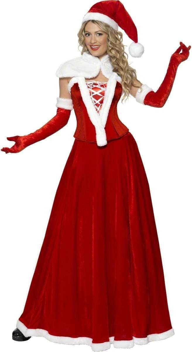 Santa Fancy Dress Costume Ladies (Christmas)