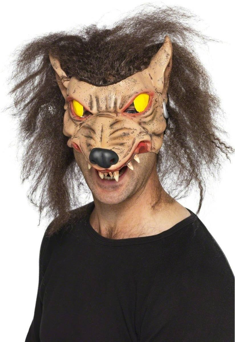 Werewolf Mask Fancy Dress (Halloween)
