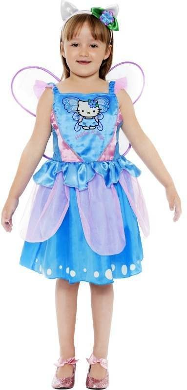 Hello Kitty Butterfly Fairy Fancy Dress Costume