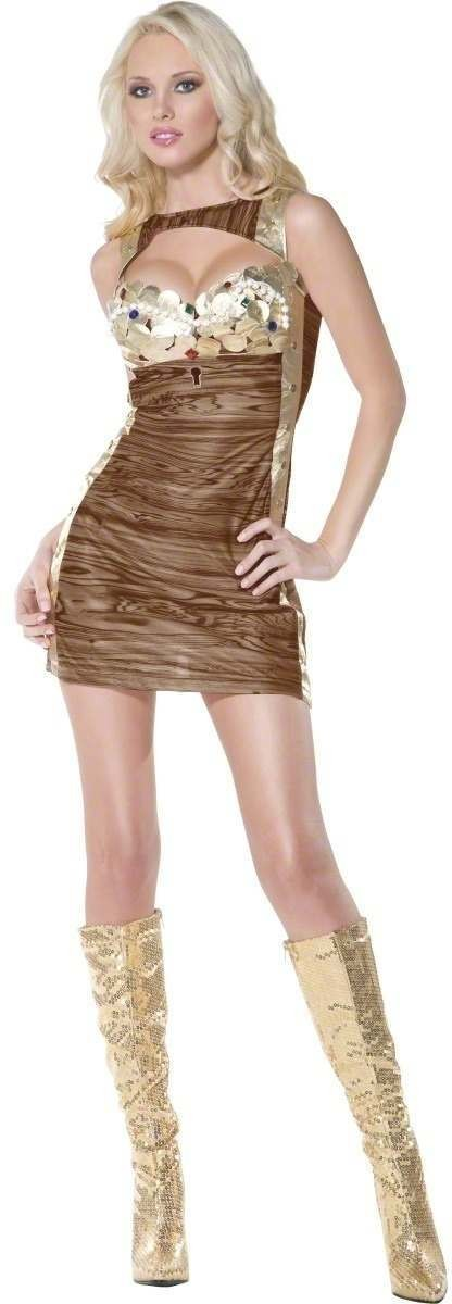 Ladies Fever Treasure Chest Fancy Dress Costume