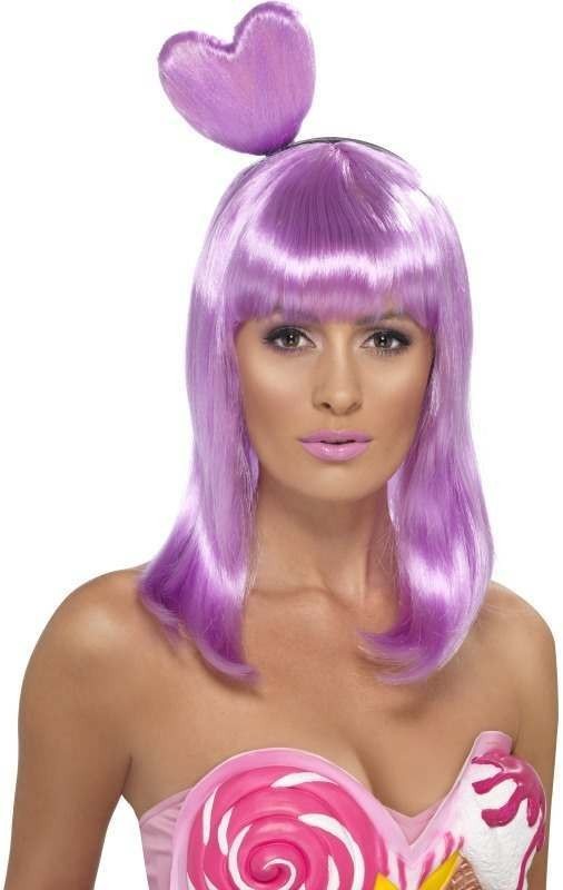 Candy Queen Wig (Fancy Dress Wigs) - (Lilac)