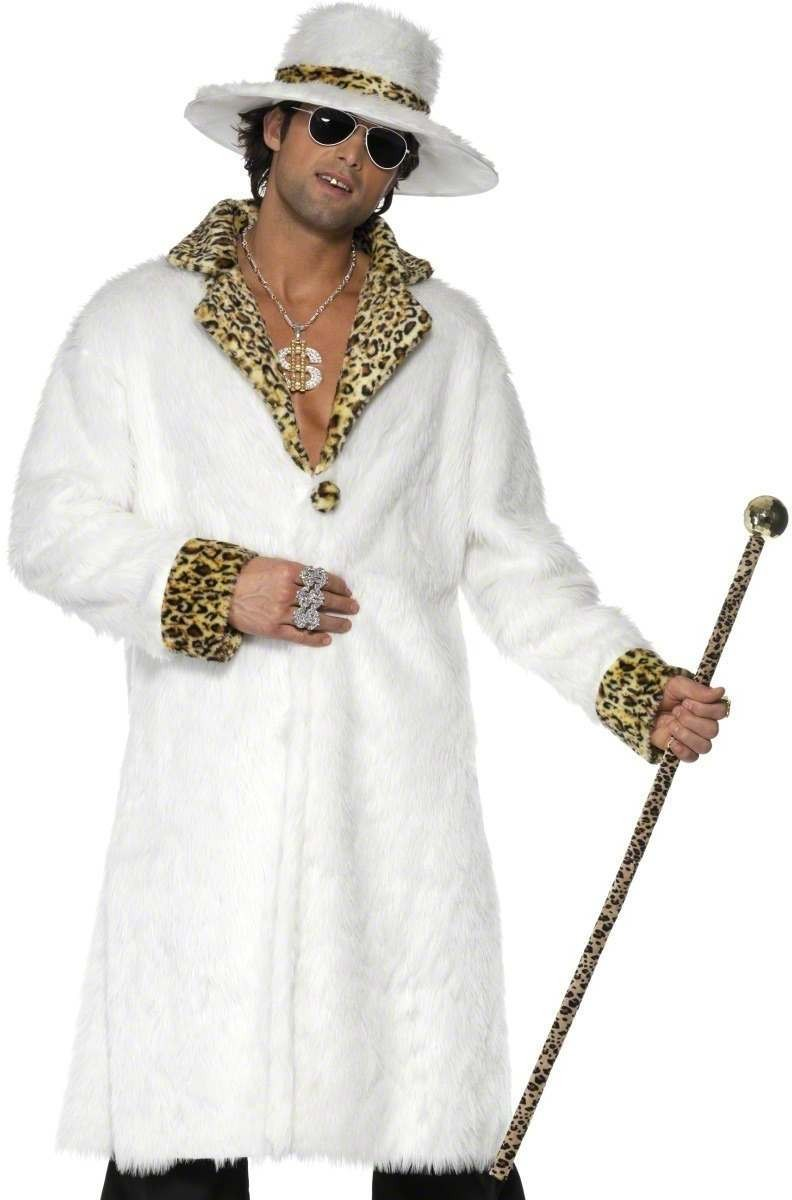 Pimp Fancy Dress Costume Mens Size 38-40 S (Pimp)
