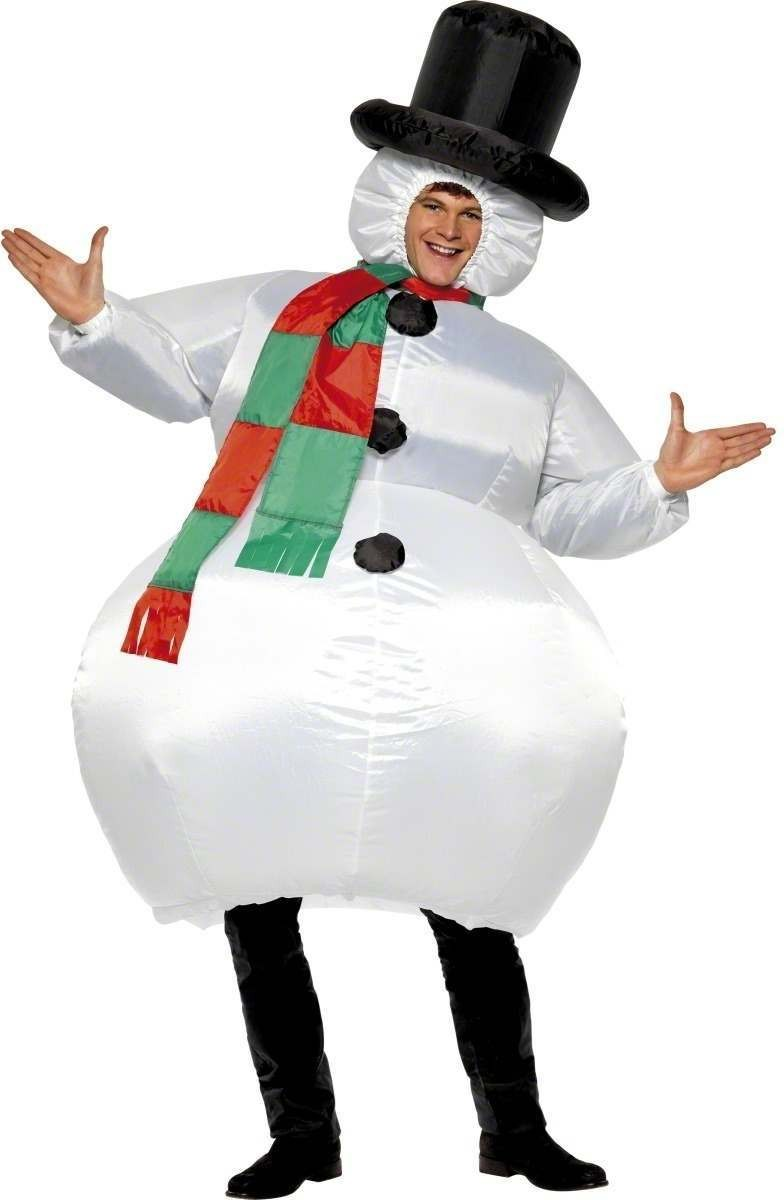 Inflatable Snowman - Fancy Dress (Christmas)