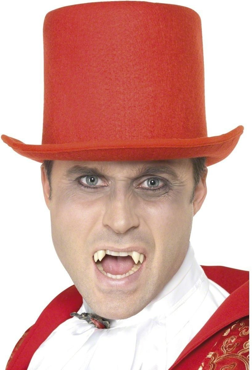 Devil Topper Hat - Fancy Dress (Halloween)