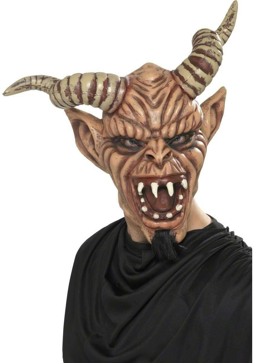 Horny Devil Mask - Fancy Dress (Halloween)