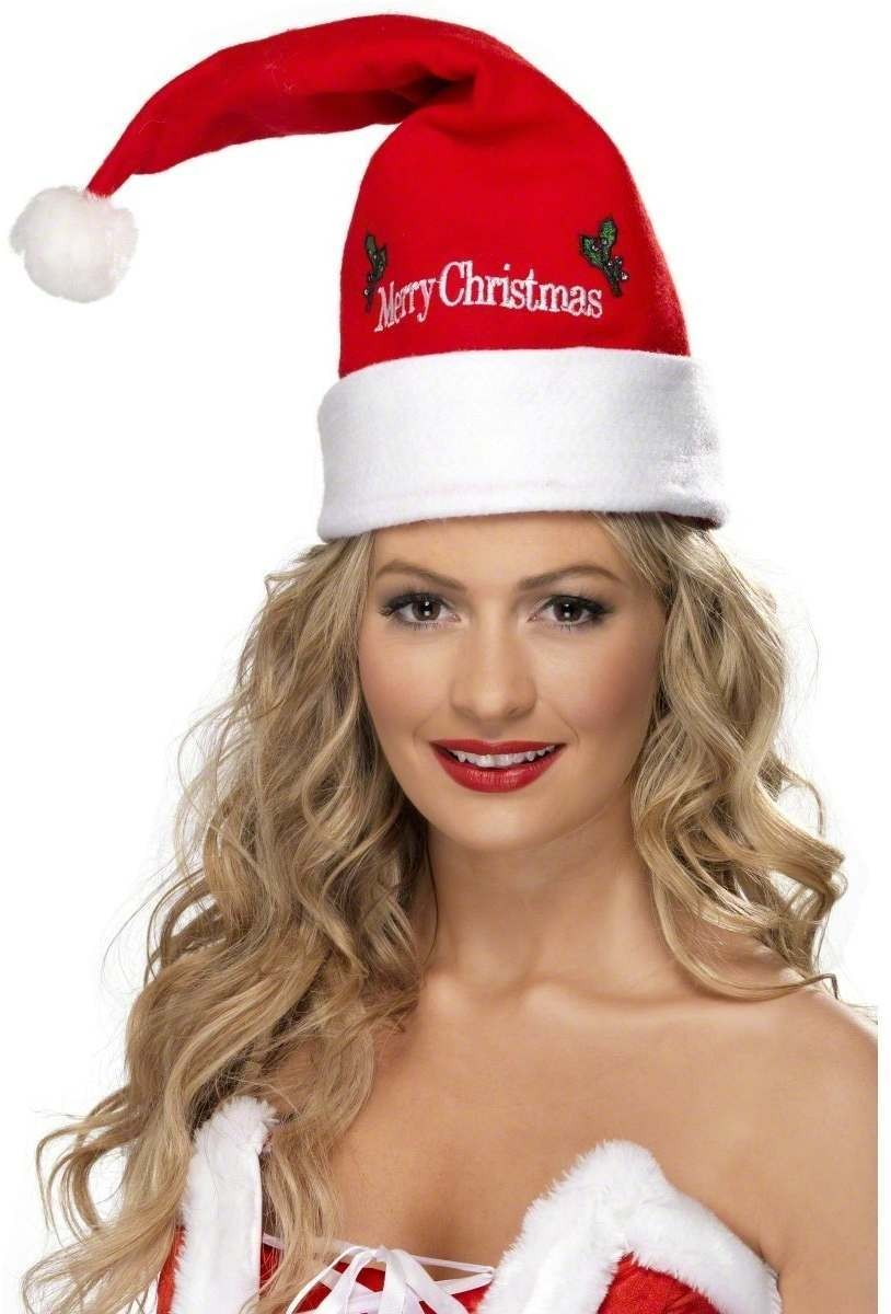 Santa Hat - Fancy Dress Ladies (Christmas)