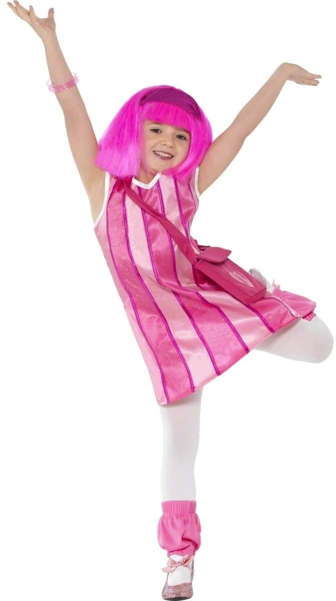 Lazy Town Stephanie Costume Child Fancy Dress Costume (Cartoon , Tv)