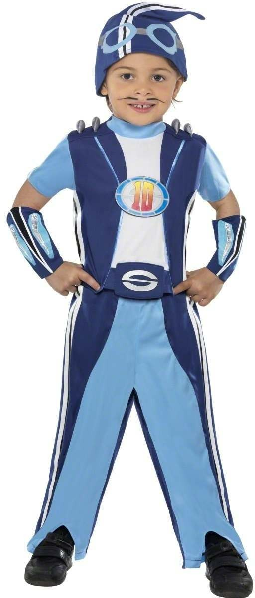 Sportacus Costume Kid Fancy Dress Costume Boys (Cartoon , Tv)