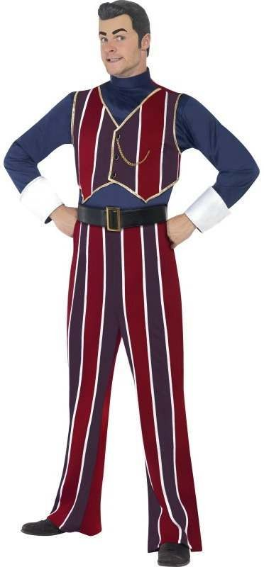 Lazy Town Robbie Rotten Fancy Dress Costume