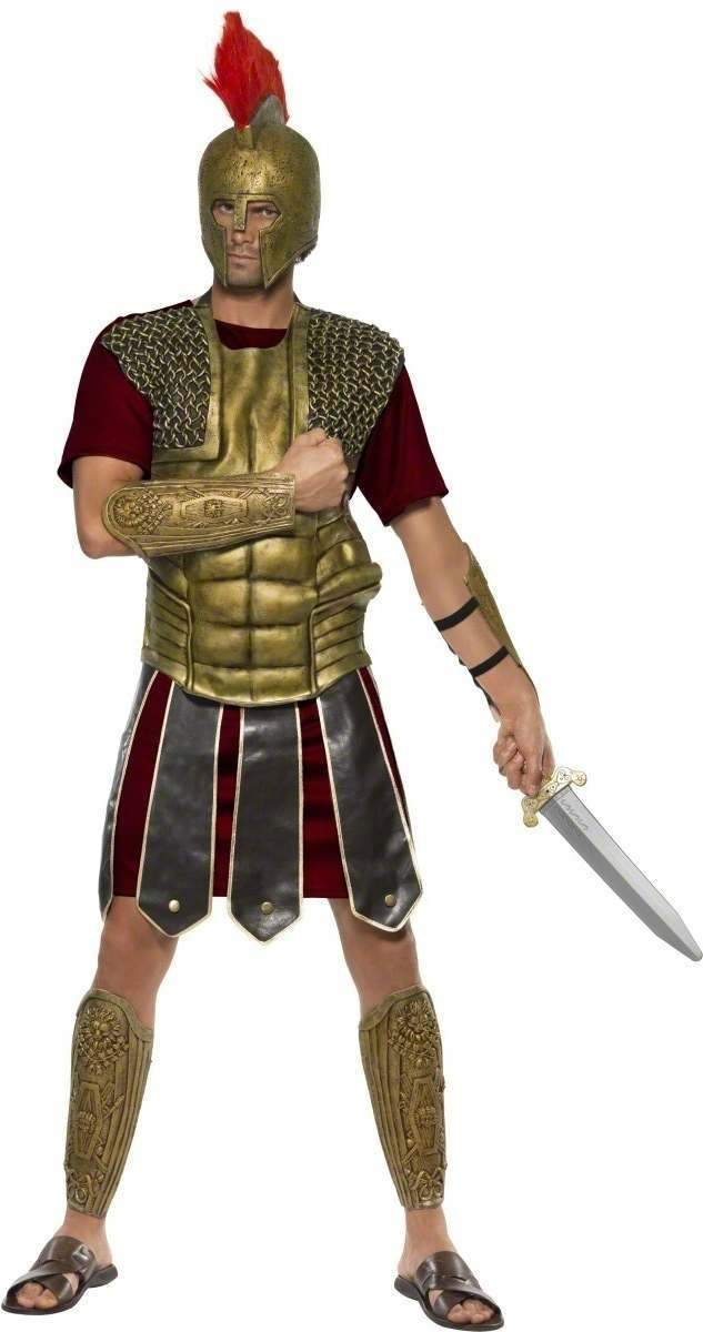 Perseus The Gladiator Fancy Dress Costume Mens (Roman)