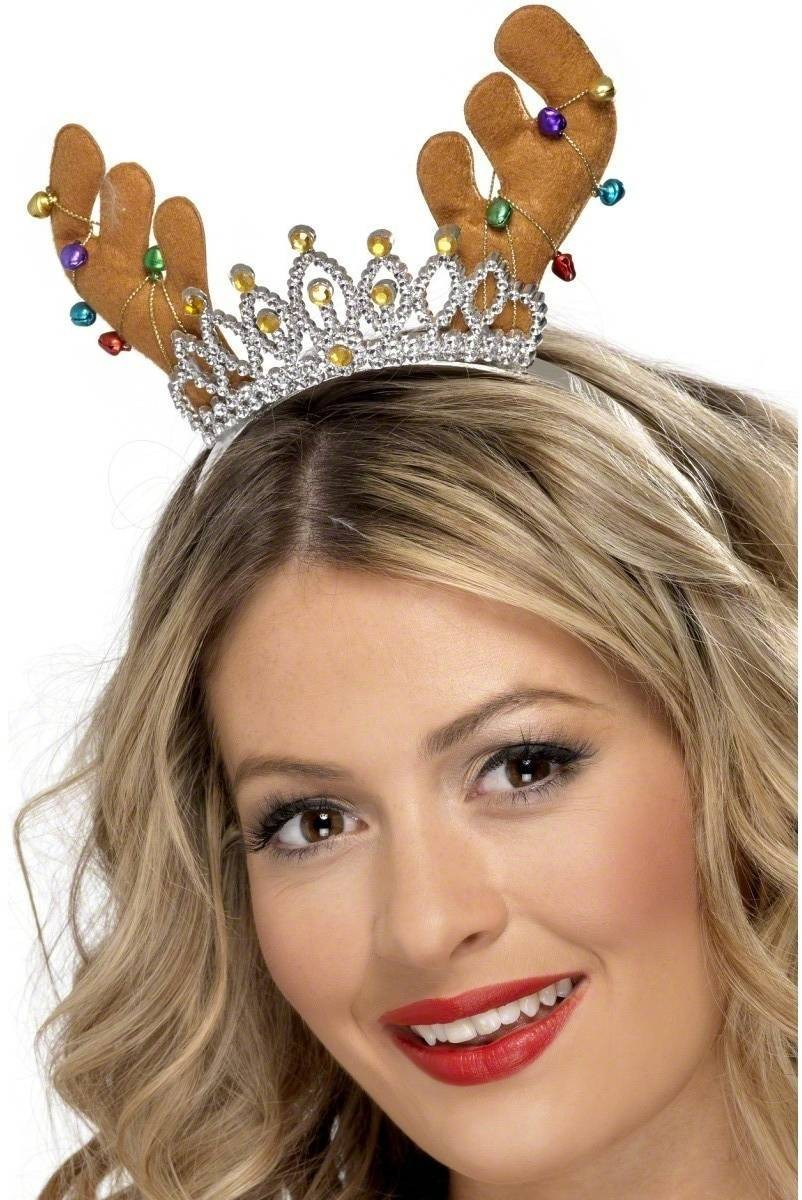 Reindeer Tiara - Fancy Dress Ladies (Christmas)
