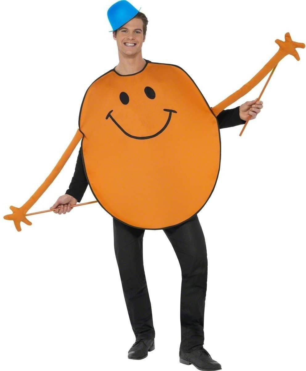 Mr Tickle Fancy Dress Costume Mens Size 38-40 S (Cartoon)