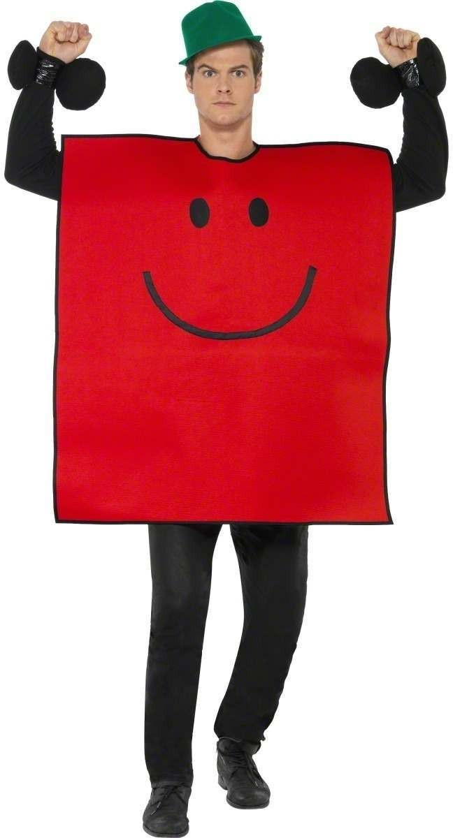 Mr Strong Fancy Dress Costume Mens Size 38-40 S (Cartoon)