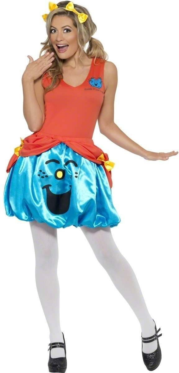 Little Miss Giggles Fancy Dress Costume Ladies (Cartoon)