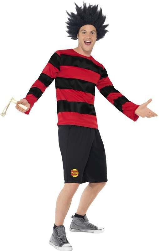 Dennis The Menace Fancy Dress Costume