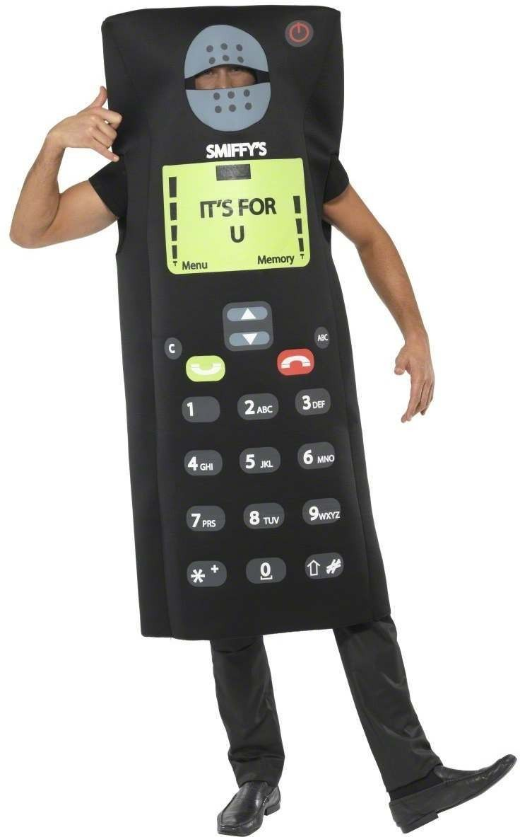 It'S For You Mobile Phone Costume Mens Size 38-40 S