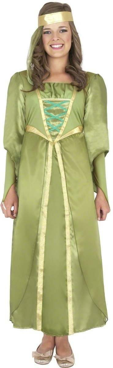 Maid Marion Fancy Dress Costume Girls